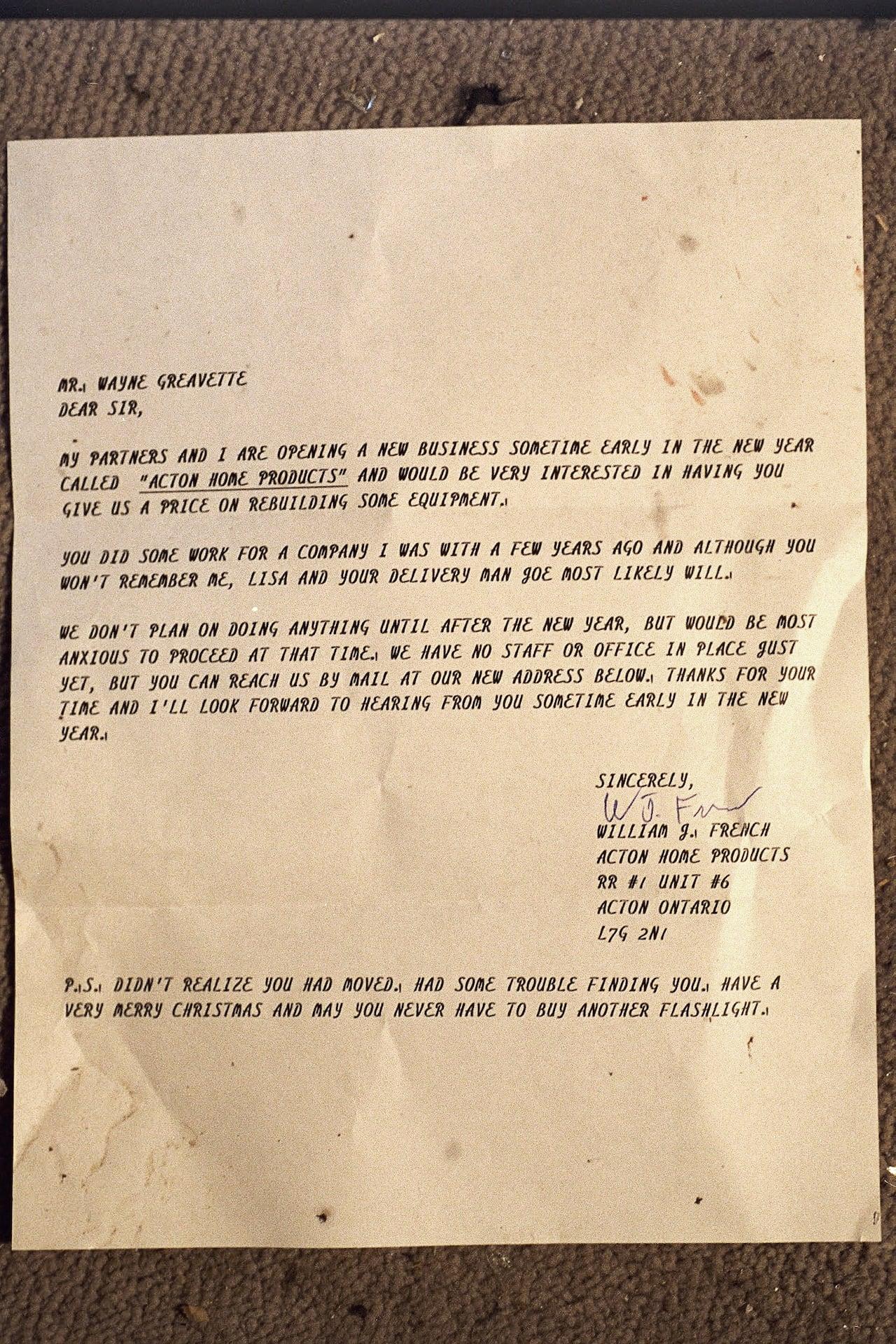 The Letter Cbc Radio