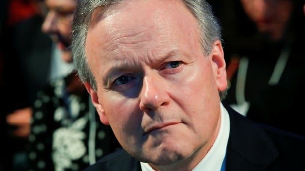 Stephen Poloz, governor of the Bank of Canada, attends the World Economic Forum  annual meeting in Davos, Switzerland on January 23, 2018.