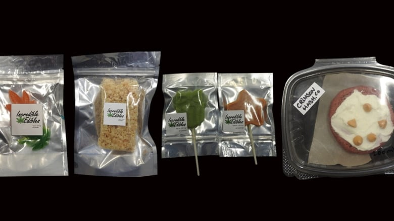 Police scoop up edibles, oils and 14 pounds of marijuana in