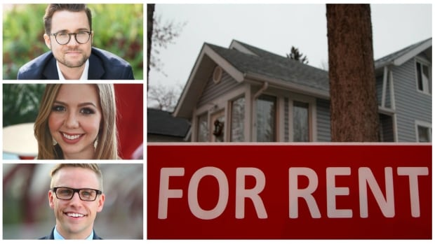 Max Fawcett, Bridget Casey, and Danny Haines have studied the market and done the math and decided that it makes more sense, for them, to rent a home instead of buying.