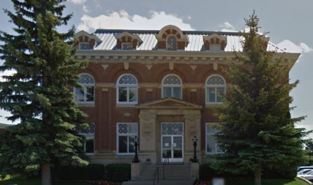 Battleford Court of Queen's Bench courthouse in Battleford