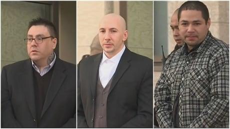 Bronson Gordon, Daniel Theodore, Andrew Bellegarde