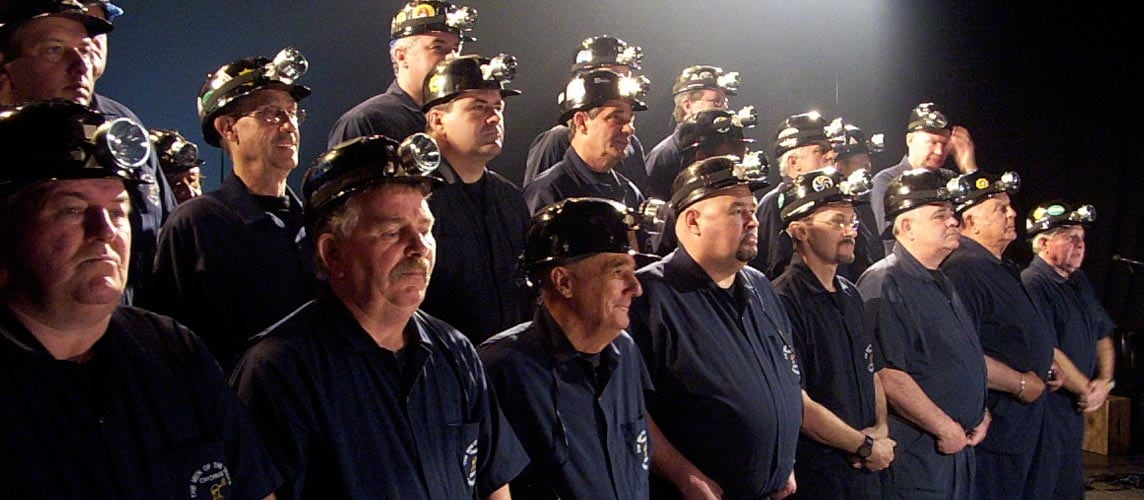 Men of the Deeps hits pay dirt mining for new members | CBC News