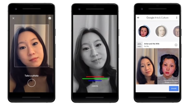 People love Google's new feature that matches your selfie ...