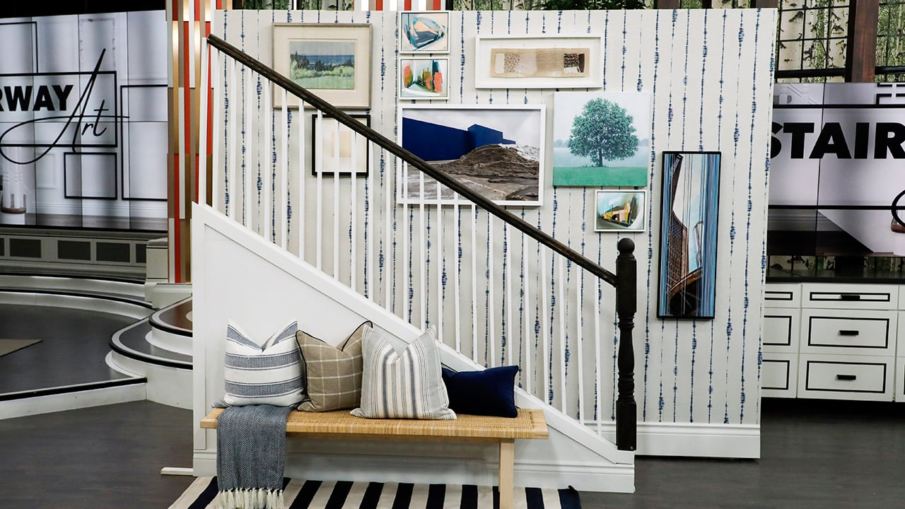 Gallery Wall Made Easy A Guide To The Statement Wall Your Staircase Has Been Missing Cbc Life