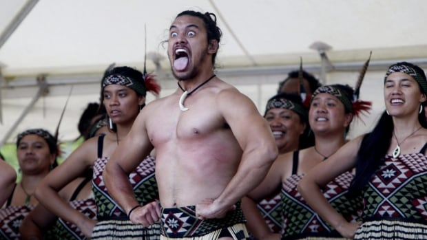 Indigenous Maori perform in Waitangi, New Zealand, in 2015 to mark the 175th anniversary of the signing of the country's founding document, the Treaty of Waitangi. A former Maori politician from New Zealand says First Nations should be wary of Canada's Pacific trading partnership.