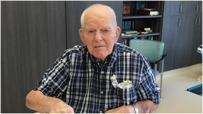 108-year-old Canadian man says the trick to a long life is to pick a good wife