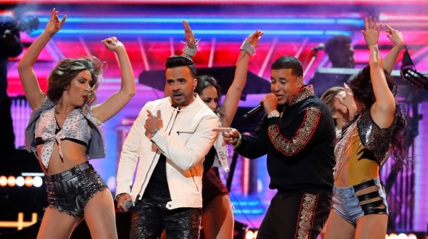 GRAMMYS Luis Fonsi and Daddy Yankee perform