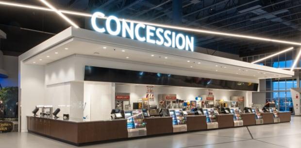 Landmark Cinemas concession concept Market Mall