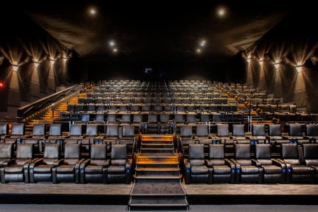 Landmark Cinemas recliner concept Market Mall