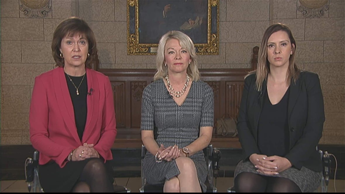 House leaders on tackling sexual harassment on the hill politics cbc news - Houses romanias political leaders ...