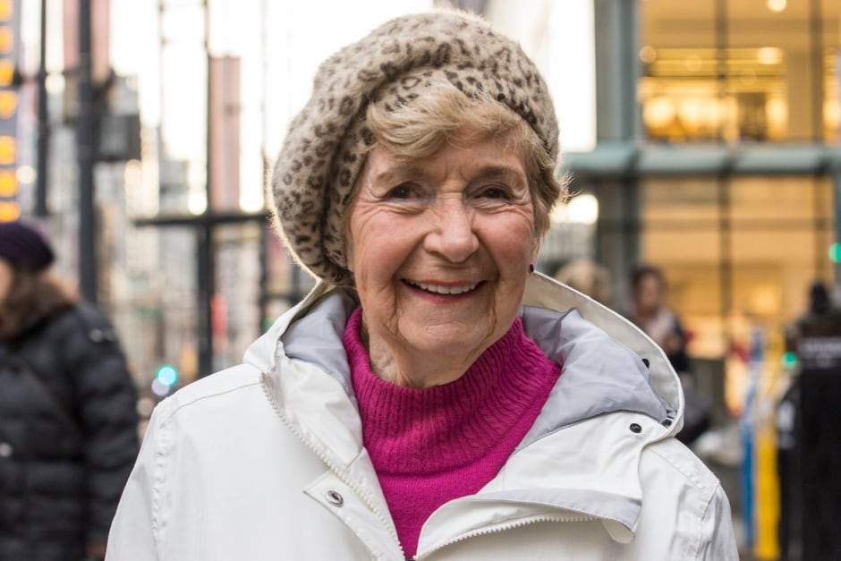 Colleen Alexander, 90, Vancouverite rain