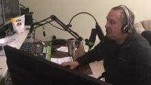 Tom Pinsent operating radio