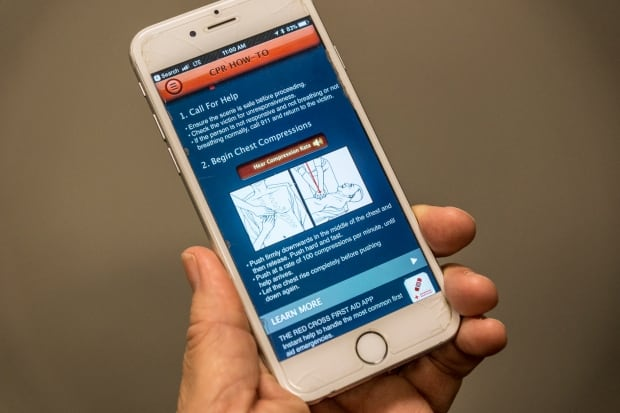 A new smartphone app,is set to turn B.C. bystanders into potential life-savers when a sudden cardiac