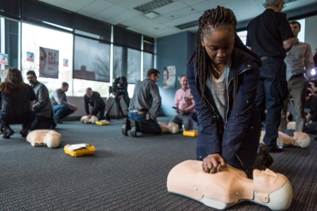 CPR Cardiac Arrest Practice