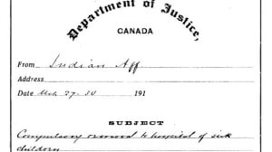 Withheld LAC document First Nations