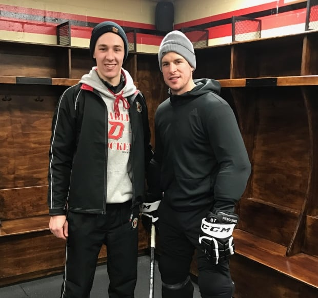 Sidney Crosby Guillaume Ouimet