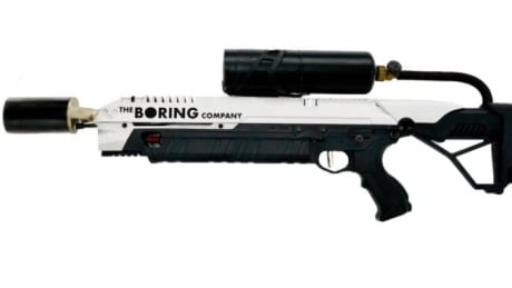 Boring Company flame-thrower
