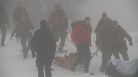 2 men hospitalized after 'criminal actions' on B.C.'s Mount Seymour