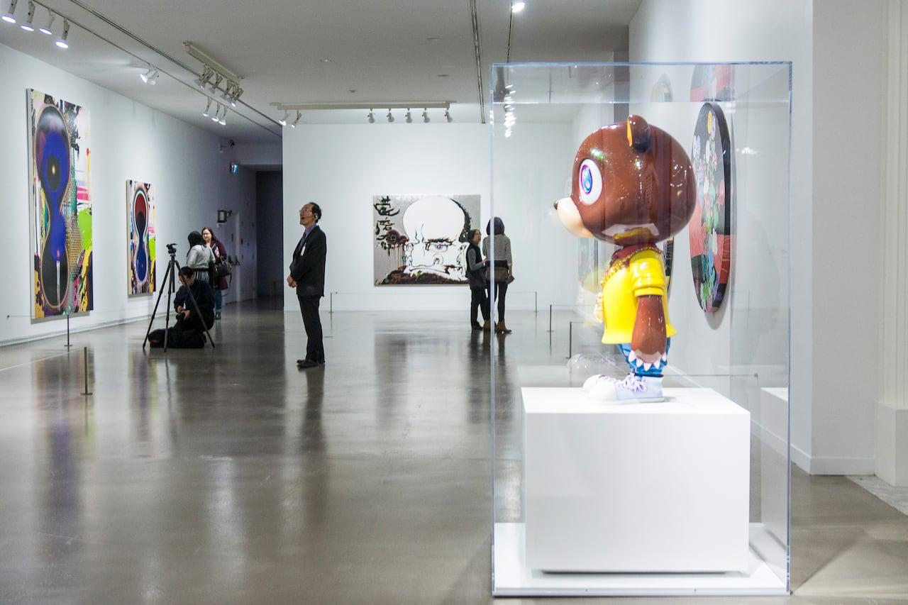 aea8a91167738 Takashi Murakami s wild works take over Vancouver Art Gallery