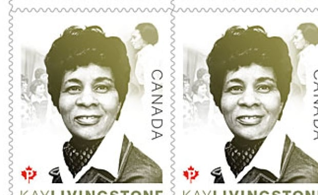 Kay Livingstone Stamp