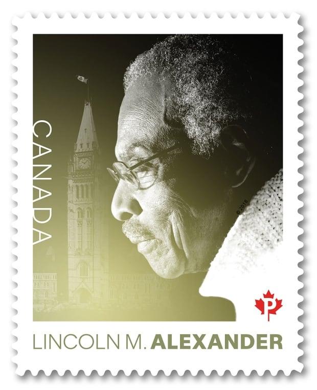 Lincoln Alexander stamp
