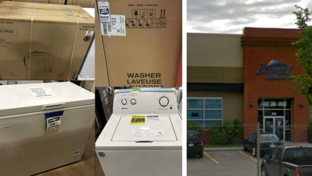 Police are asking the public for help in locating 55 washing machines and six chest freezers that were stolen off a semi-trailer from Bowest Appliances.