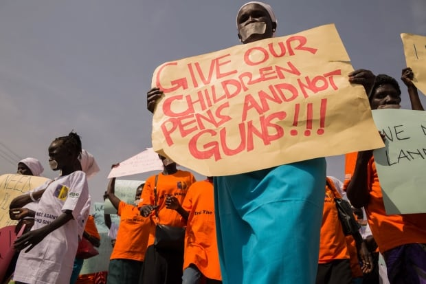 UN Calls for Ending Recruitment of Child Soldiers