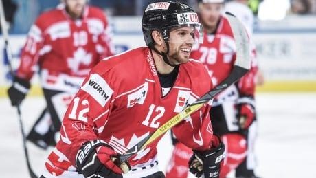 Canada Zach Boychuk Hockey Spengler Cup