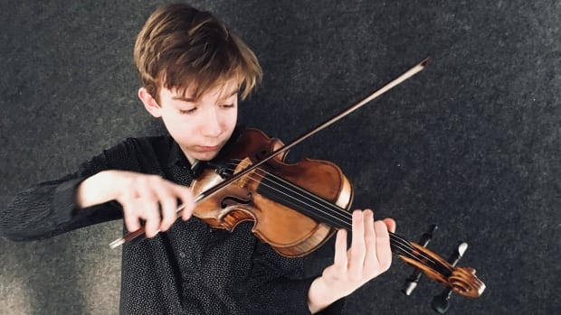 Jacques Forestier, 13, is going to the Menuhin Competition in Geneva, Switzerland.