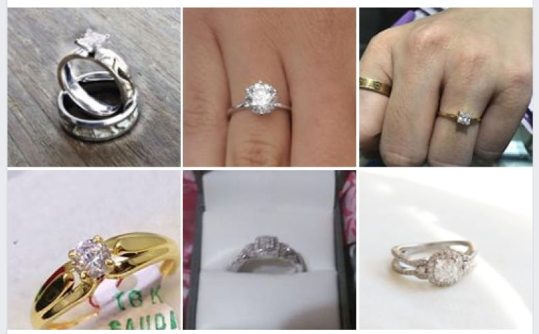 The stories behind the thousands of engagement rings for