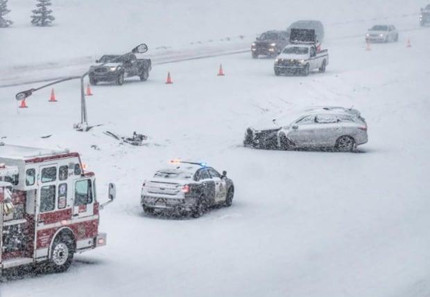 Deerfoot 130th crash