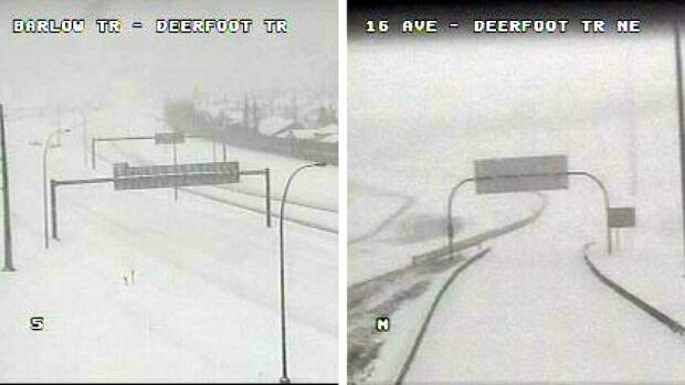 Calgary Deerfoot Traffic cams