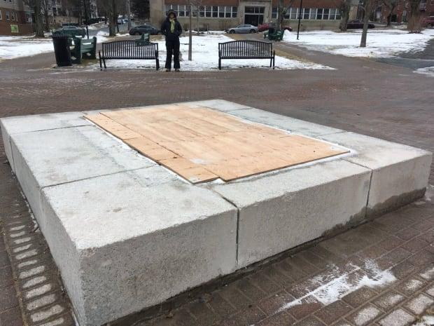 Edward Cornwallis statue removed