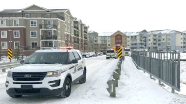 An 12-year-old boy died in hospital Sunday after a carbon monoxide incident at a an apartment complex in Airdrie.