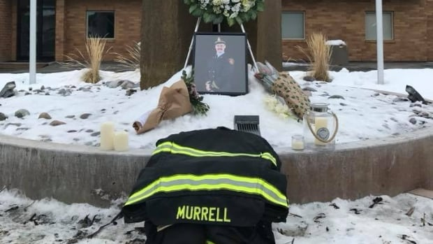Cpt. Clayton Murrell, of the Cranbrook, B.C., fire department, was killed in a crash on the Crowsnest Highway when a tractor trailer lost control and collided head-on with his vehicle.