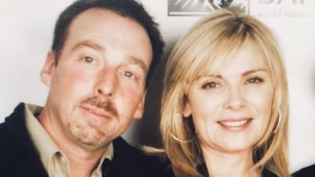 Kim and Christopher Cattrall