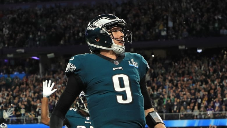 huge selection of 42b96 6fb61 From backup QB to hero: Nick Foles earns Super Bowl MVP ...