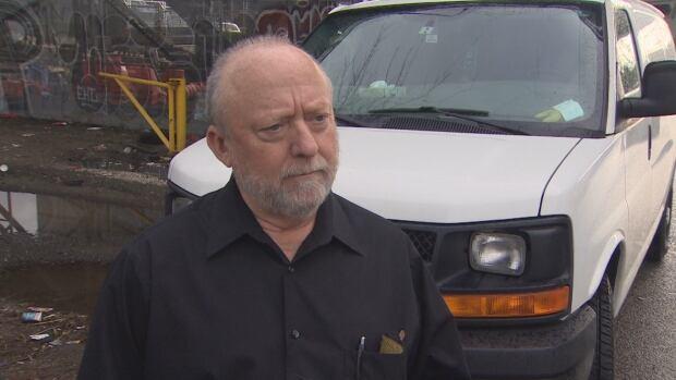 John Knapton Glen Drive Vancouver business owner