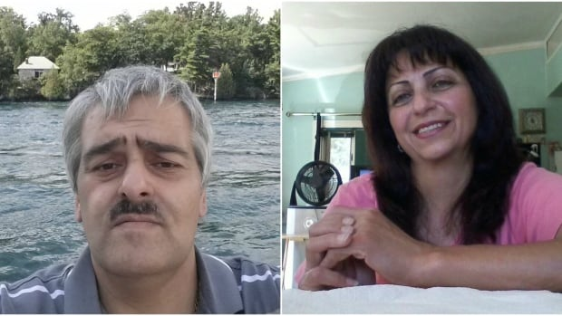 Neighbours of Touni Marina (left) and Safaa Marina (right) said the couple had lived in the house on MacFarlane Road with their three sons for roughly 30 years.