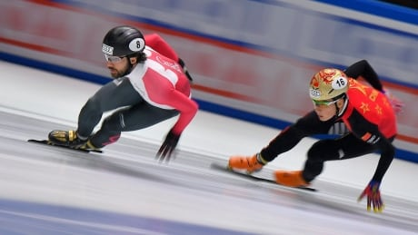 Short Track Speed Skating Charles Hamelin