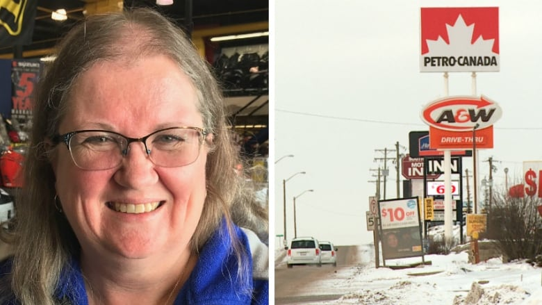 62ce52f4c55de Business owner Brenda Neufeld helped launch a crime prevention group in  southern Alberta that works with business operators in Gasoline Alley to  address ...