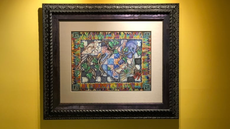 This painting is actually a Bitcoin puzzle worth more than $40K — and someone finally solved it
