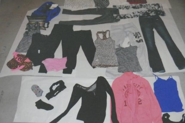 Tina Fontaine clothes