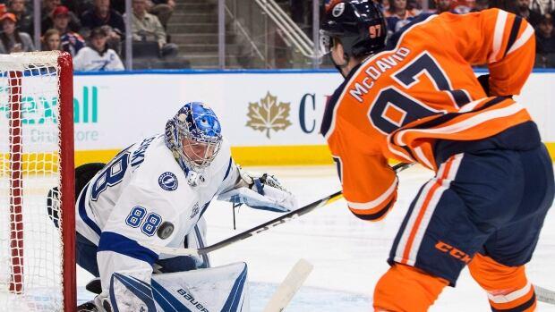 Connor McDavid spectacular as Edmonton Oilers light up Lightning