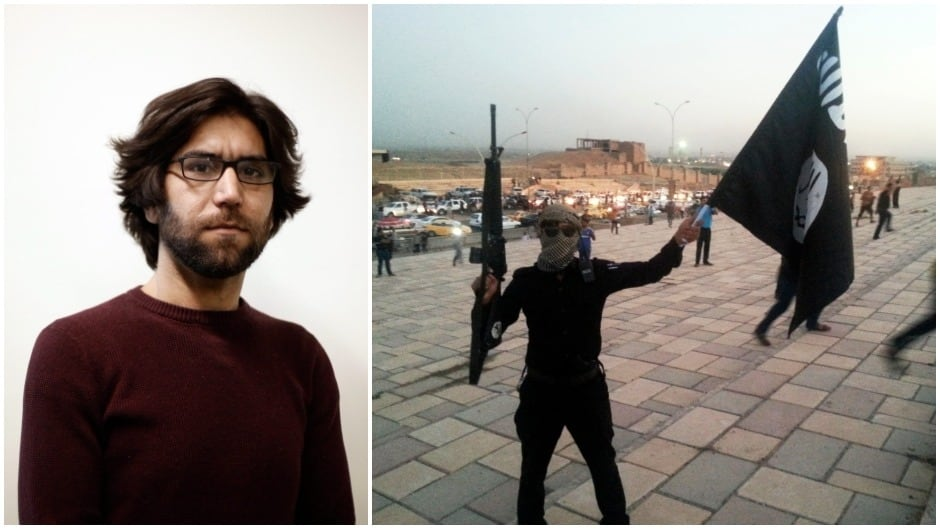 Omar Mohammed spent two years anonymously documenting the atrocities of ISIS on his blog, Mosul Eye, for the wider world to see. He would pass their fighters, right, every day on the streets.