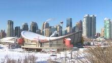 Calgary winter skyline 6155