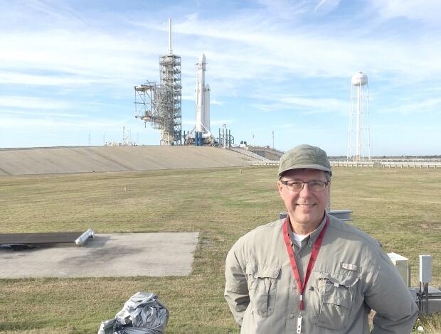 Don Hladiuk Falcon Heavy launch