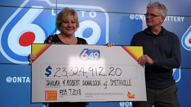 Small town Ontario score $23.3-million lottery win