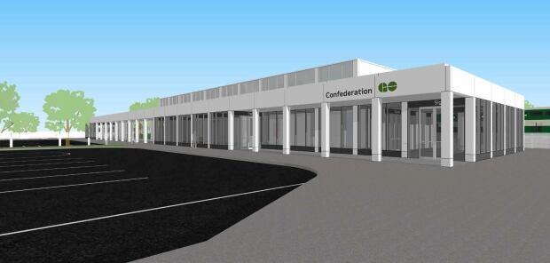 Confederation GO station